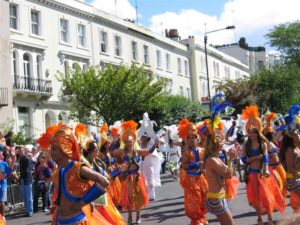 photo de Londres, au Carnaval de Notting Hill 2004