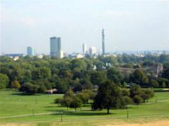 vue panoramique de Primerose Park, Londres