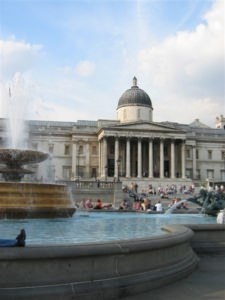 photo de Trafalgar Square, Londres