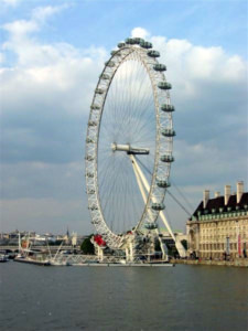 photo du British Airways London eye