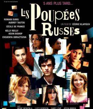 affiche du film Les Poupées Russes