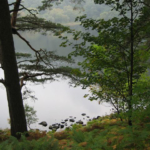 photo au bord du lac de Glendalough
