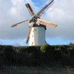Un moulin à Skerries, Irelande
