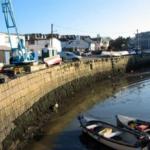 jolie vue du port de Dalkey