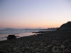Dalkey - Vue de la plage