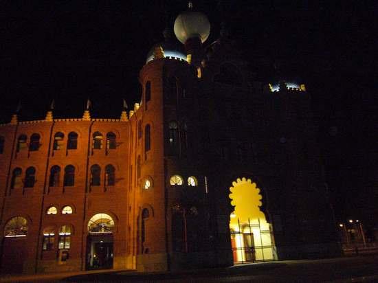 Les arenes de Lisbonne, de nuit