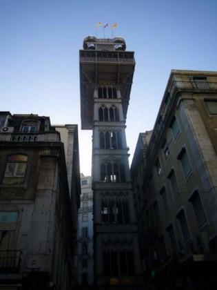photo ascenseur panoramique de Lisbonne