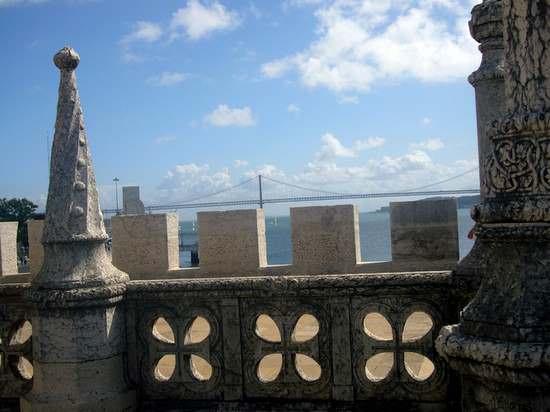 photo de vue sur la mer, Lisbonne