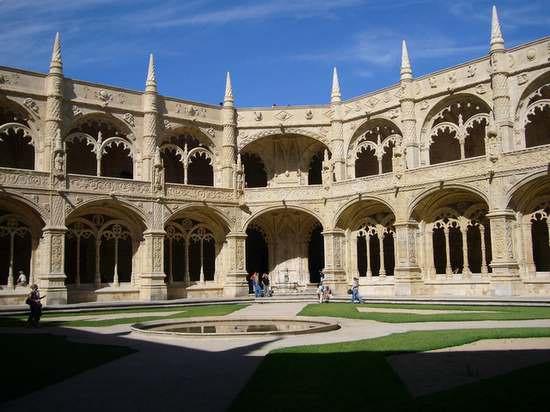 photo du Monasterio dos Jeronimos à Lisbonne