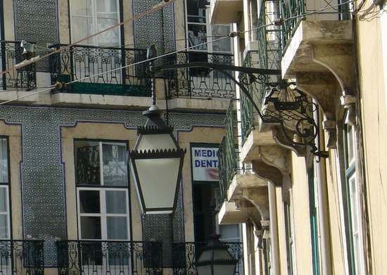 photo lampadaire lisbonne