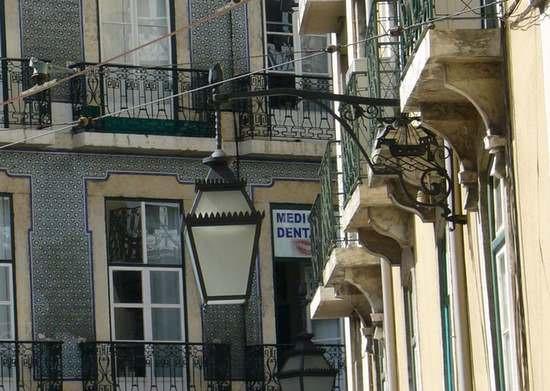 photo lampadaire lisbonne