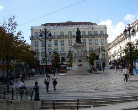 Une place à Lisbonne