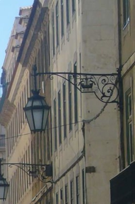 photo de lampadaire Lisbonne