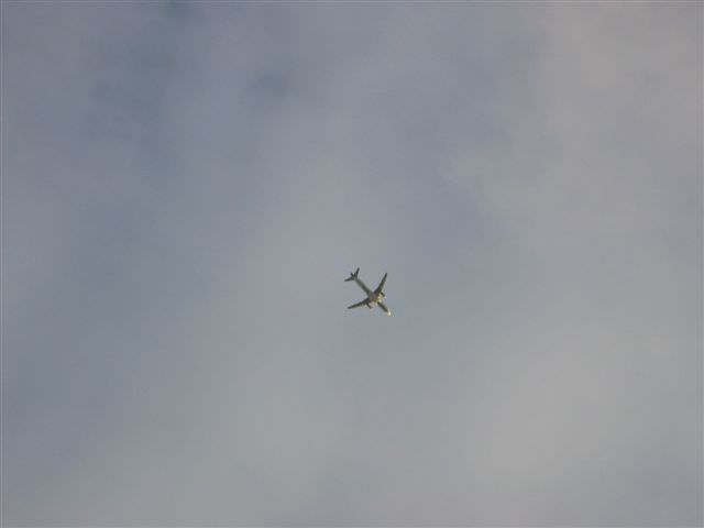 Photo avion au dessus de Dublin
