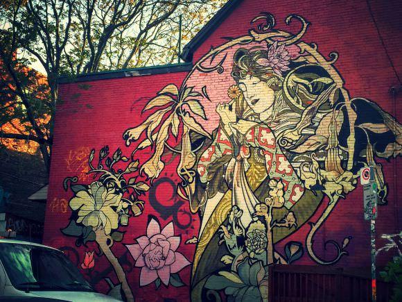 Street Art à Kensington Market