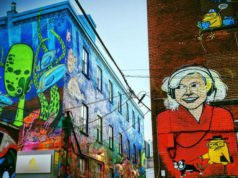 Photo Graffiti street art Toronto