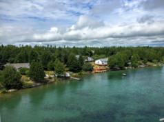 photo de voyage sur l île Manitoulin