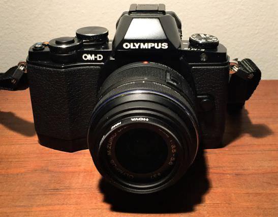 Mon appareil photo hybride Olympus...