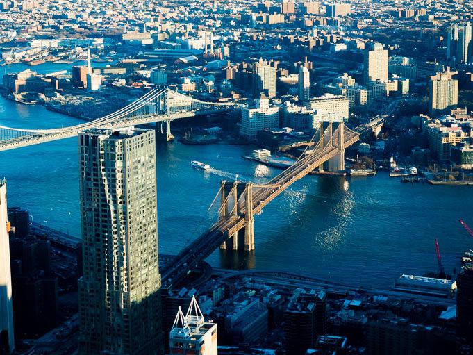 photo New-York vue du One World Trade Center