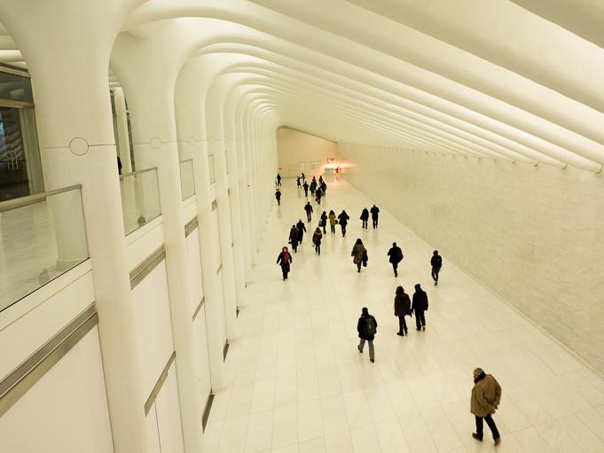 photo couloir One World Trade Center