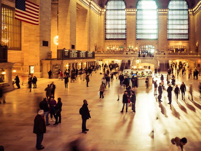 photo de Grand Central Station de New York