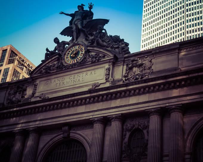 L'horloge de Grand Central à New York