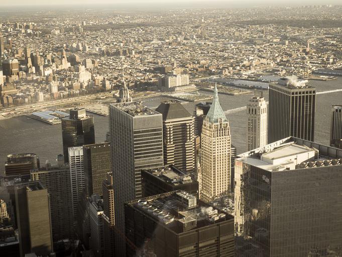Photo sommet du One World Trade Center