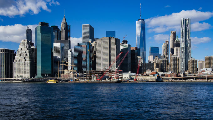 photo panorama de New York