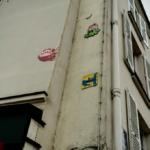 Quelques envahisseurs dans les rues de Paris...