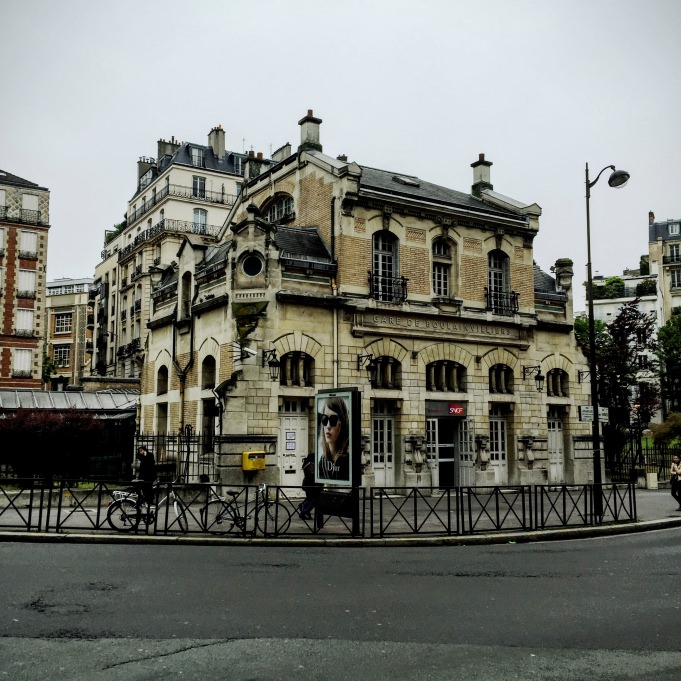 Gare SNCF de Boulainvilliers, à Paris