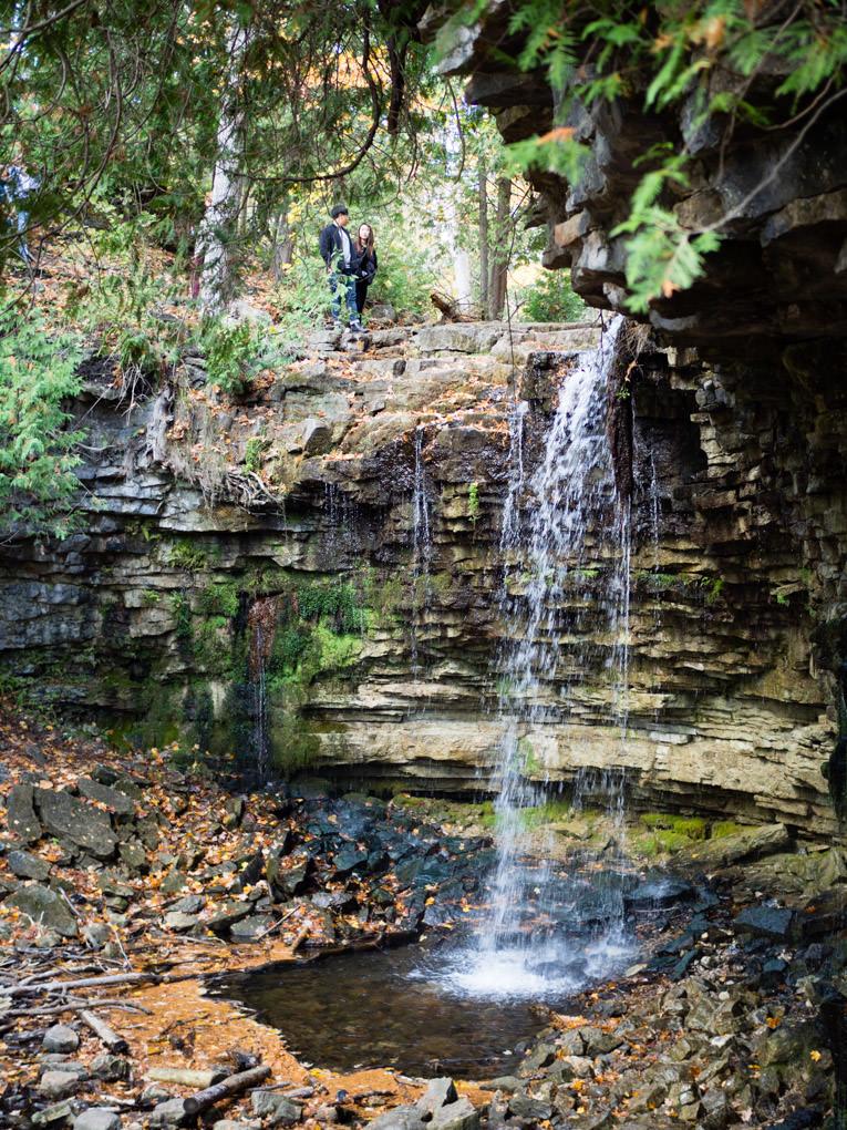 photo de cascade de Hilton Falls