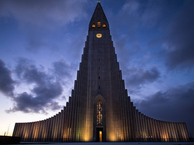 L'église Hallgrimskirkja en Islande